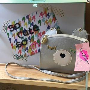 BNWT Betsey Johnson crossbody purse